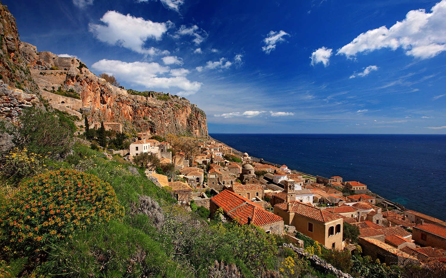 Monemvasia mountain